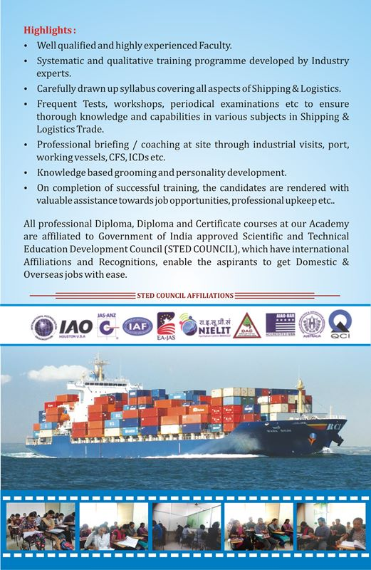 logistics courses in kerala